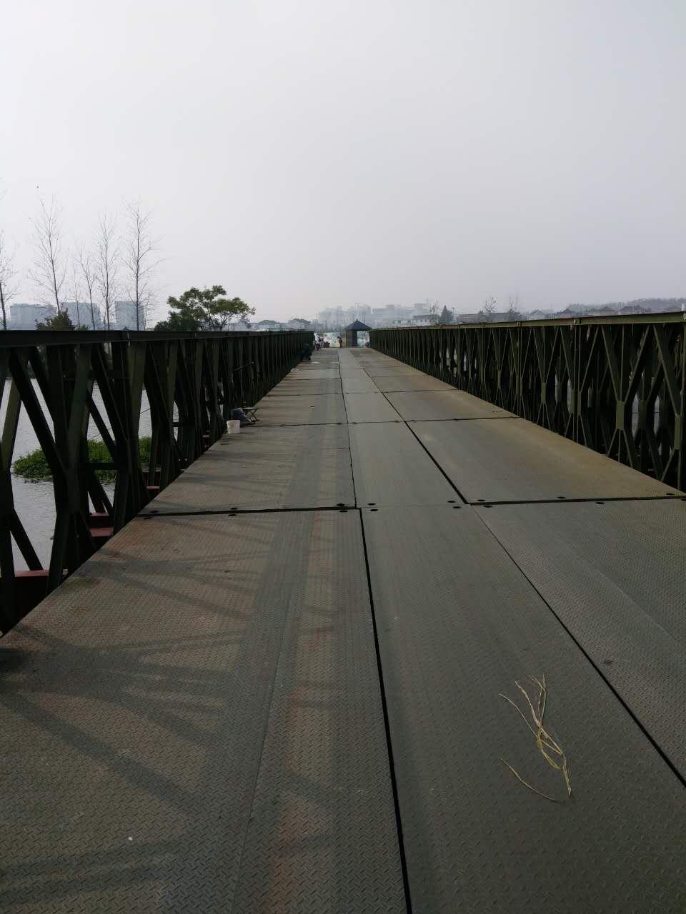 净宽5米下承式钢便桥(HD200型限载70吨)