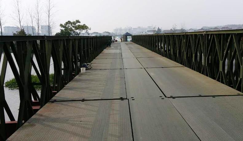净宽5米下承式钢便桥(HD200型限载100吨)
