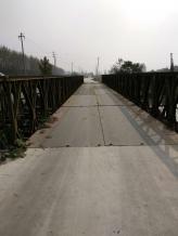 净宽4米下承式200型钢便桥(限载100吨)