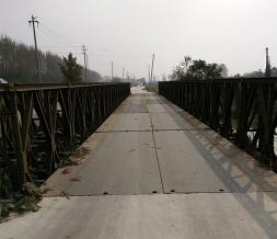 下承式200型钢便桥