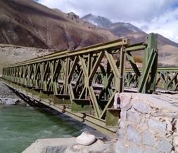 下承式321型钢便桥
