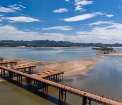 下承式钢便桥工程