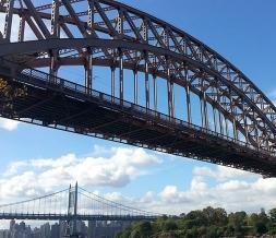 下承式贝雷钢便桥